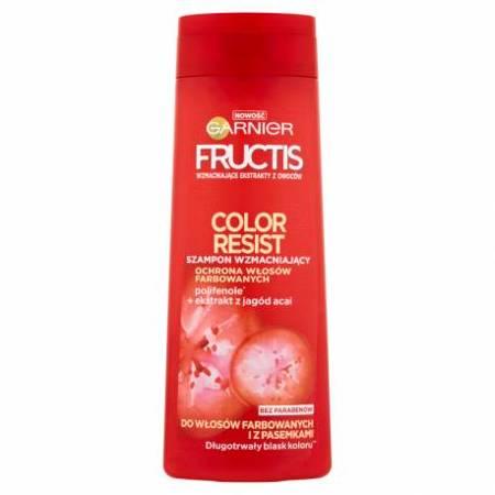 Garnier Fructis Color Szampon do włosów farbowanych 400 ml