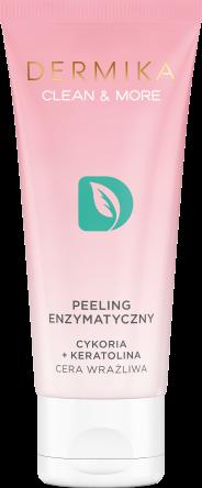 Dermika Peeling enzymatyczny cykoria+keratolina cera wrażliwa