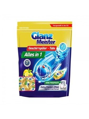 GlanzMeister Tabletki do zmywarki Alles in1 90 szt